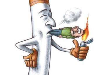 Fumer tue les dents