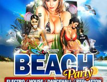 Artwork Affiches / flyers Beach Party - Sickboys Prod