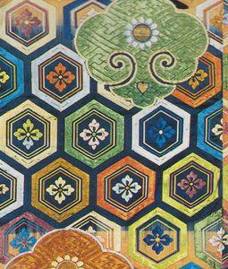 ecailles de tortues et gong tissu japonais