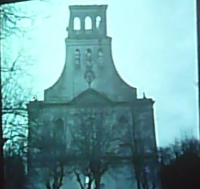 Photos tirées du film projeté: la libération de Neuf-Brisach (Archives)