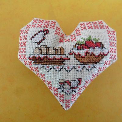 Cœur Valentin Pains et Pâtisseries Gourmandes: face A