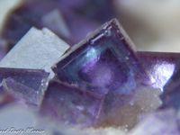 Fluorite (Fluorine) from Jingbian Mine, China (size: Small Cabinet)