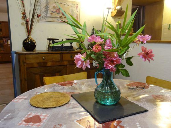 228 - Dernier bouquet de fleurs d'automne