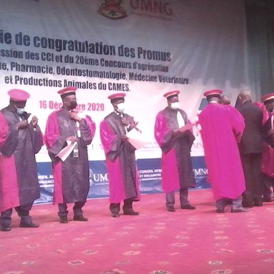 CAMES 2020 : Au total 103 enseignants de l'Université Marien NGOUABI, ont été congratulé