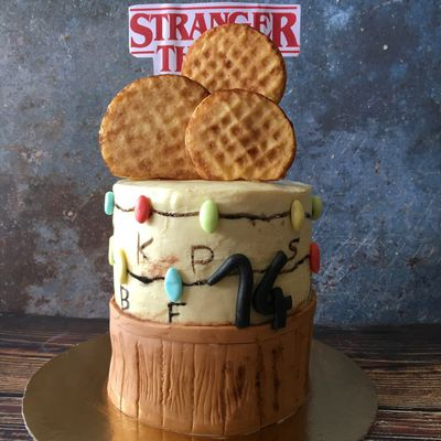 Gâteau Stanger Things