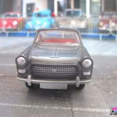 PEUGEOT 404 BERLINE GRIS ANTHRACITE METALISE DINKY TOYS REEDITION ATLAS 1/43 - car-collector