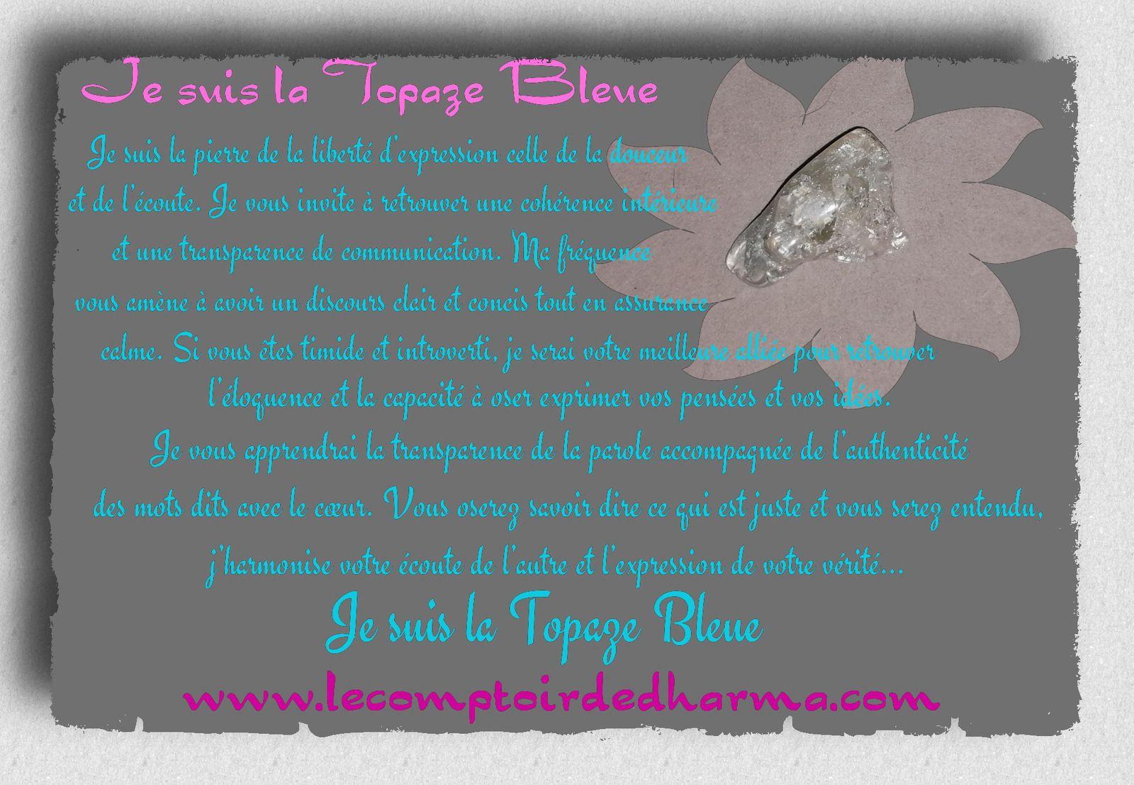 la Topaze Bleue