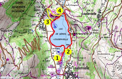 Promenade autour du lac de Génos Loudenvielle