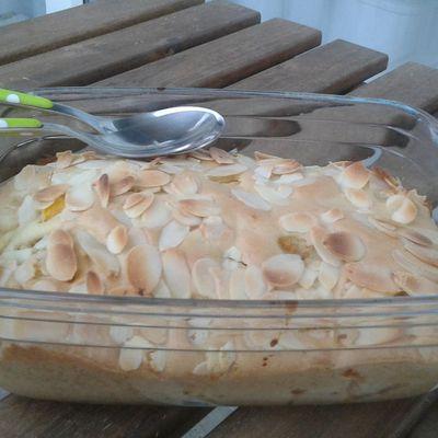 Gâteau pêches abricots