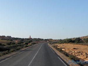 Nationale 1 Tiznit-Guelmim (Maroc en camping-car)