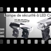 ECLAIRAGE CYCLO NOMADE LED Cree - 3 modèles Hitech - [PEARLTV.FR]