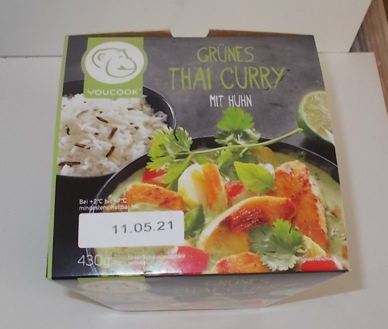 YouCook Grünes Thai Curry mit Huhn