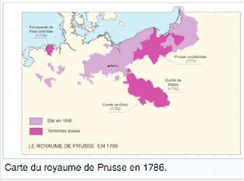 FREDERIC II de PRUSSE dit LE GRAND