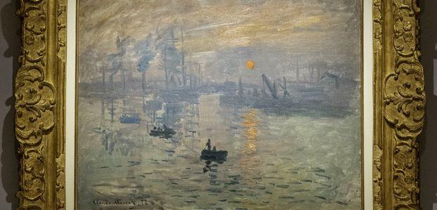 Visite au musée Marmottan - Monet.