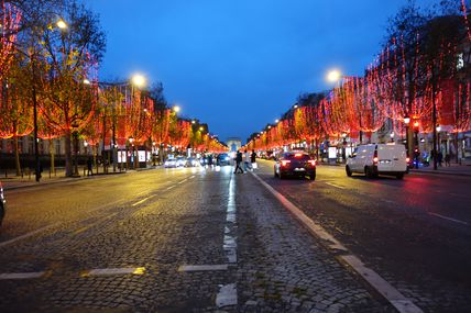 ILLUMINATIONS DE NOEL CHAMPS ELYSEES 2020 (02/12/2020)