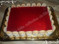Bavarois fraises / framboises