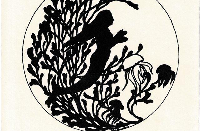 Else Hasselriis, Silhouettes illustrations des contes d'Andersen /  LITTERATURE / ARTS PLASTIQUES