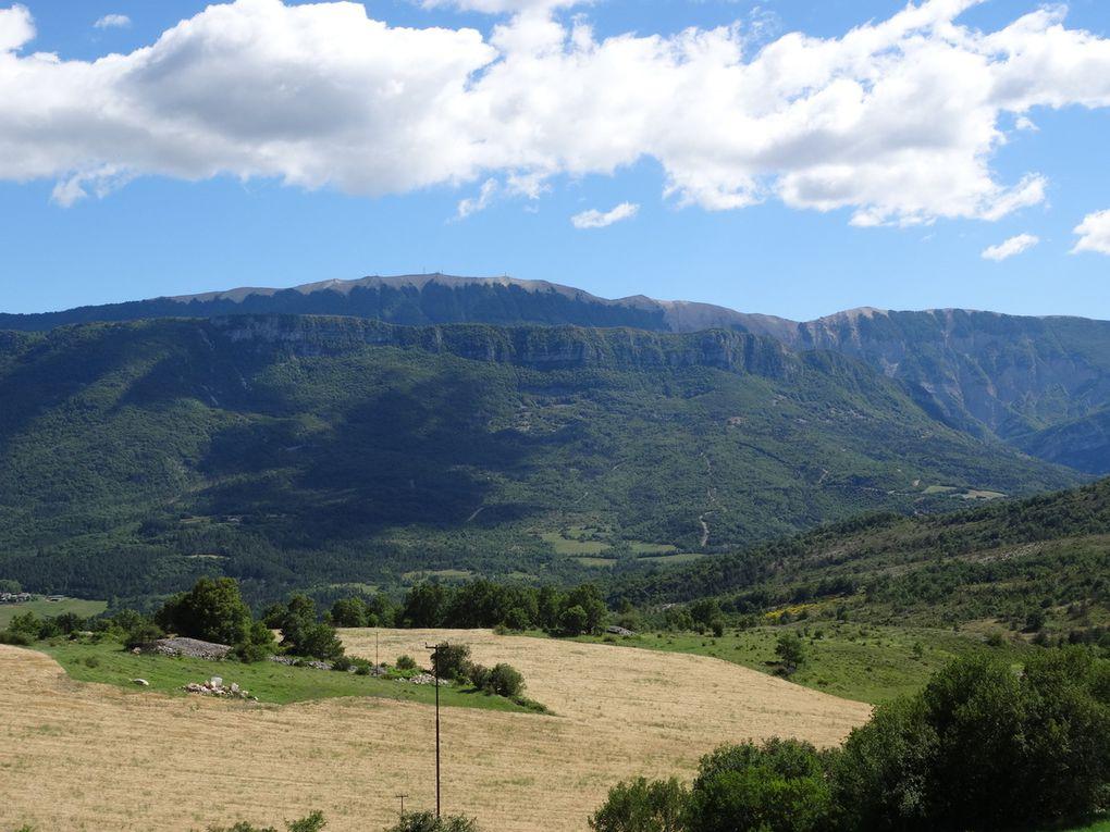 Variante du Tour de la Vallée du Jabron en BUL (Alpes de Haute Provence) 21 et 22 juin 2016