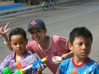 Thaïlande / Songkran pour Aam et Alex