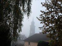 Brouillard le matin. Photo lesvoivres88240