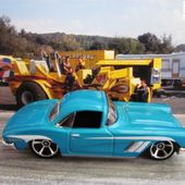 62 CORVETTE HOT WHEELS 1/64 - CHEVROLET CORVETTE 1962 - car-collector.net