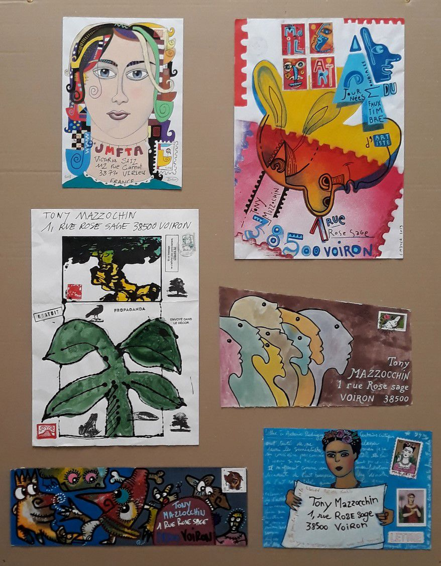 ATELIER MAIL-ART AU MUSEE