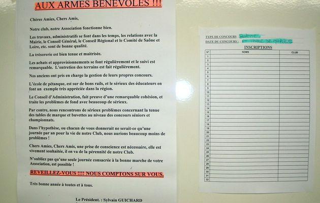 AUX ARMES BÉNÉVOLES ...!!! : (lettre ouverte)