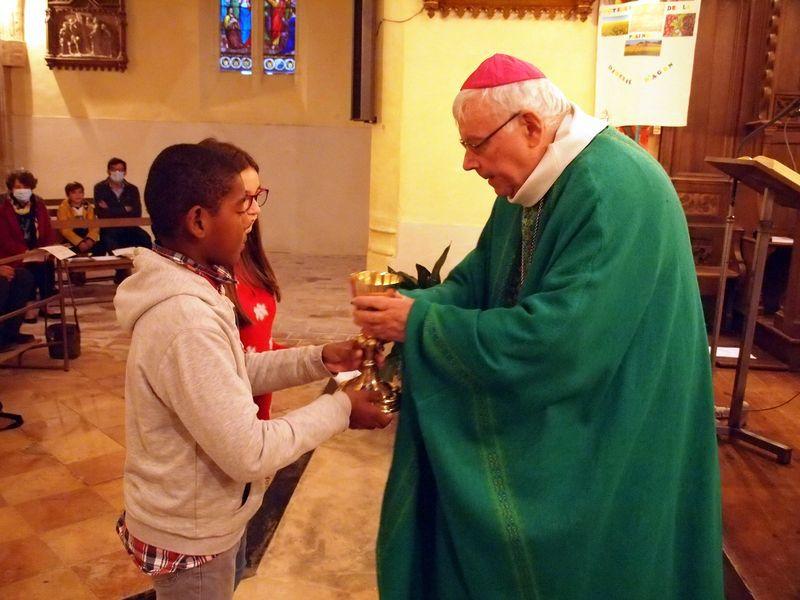 Envoi en mission de nos délégués pastoraux  par Mgr HERBRETEAU