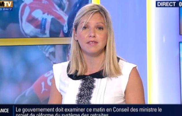 2013 09 18 - 07H15 - CAROLE COATSALIOU - BFM TV - PREMIERE EDITION 'SPORTS'