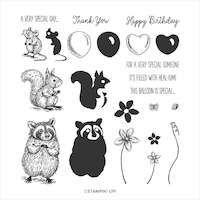 151643 Special someone stampin up cartes de vœux et plus encore avec ces adorables animaux raton laveur