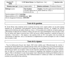 Informations de l'Assemblée Nationale