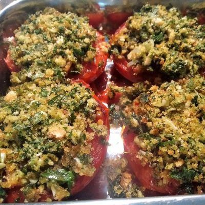 Tomates à la provençale, recette authentique
