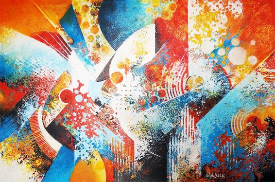 Acrylique sur toile (120x80)