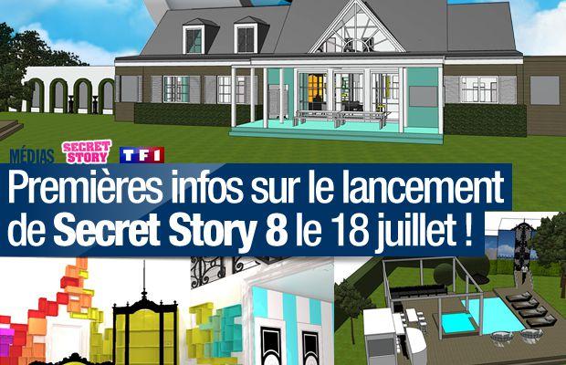 Premières infos sur le lancement de Secret Story 8 le 18 juillet ! #SS8