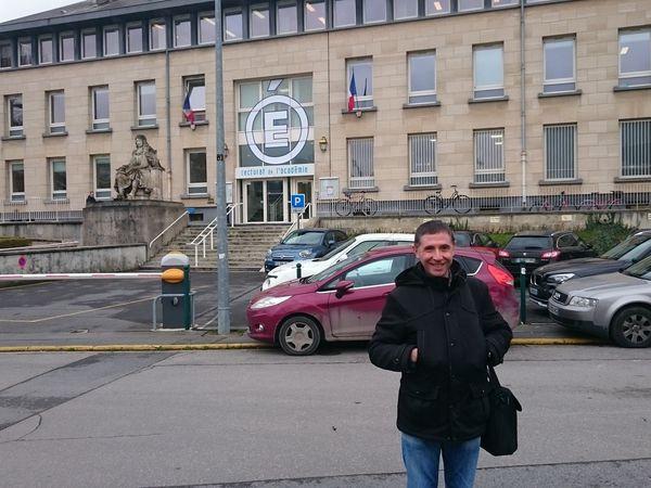 RIS- le 29-01-18 de 14h30 à 16h au rectorat de Reims, département de la Marne 51,