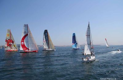 Dernières photos du départ de la course de voile Istanbul Europarace