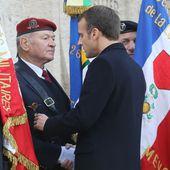 """""""Quand mettrez-vous les sans-papiers hors de chez nous ?"""" : un ancien combattant interpelle Macron"""
