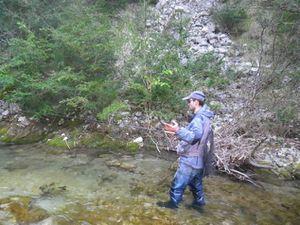 Deux pêcheurs du 42 en visitent dans la Drôme