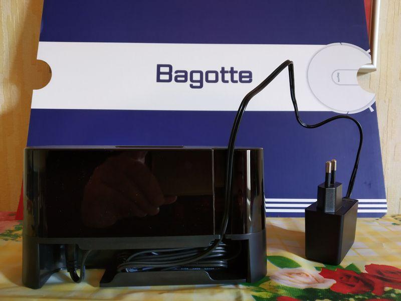 installation de l'aspirateur robot 3-en-1 multifonctions - Bagotte BG600 @ Tests et Bons Plans