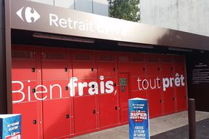 Carrefour Market teste les casiers réfrigérés à Montesson.