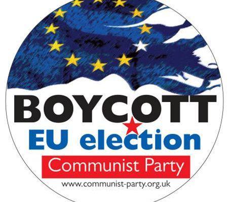 Le PC de Grande-Bretagne appelle au boycott des élections européennes