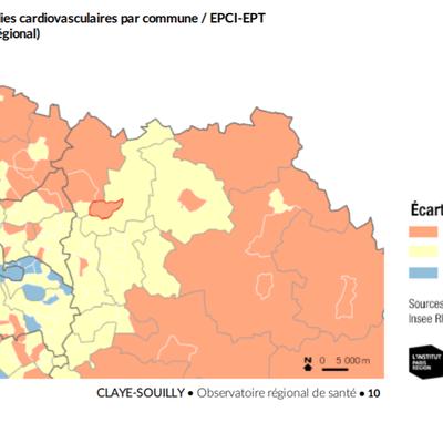 Pourquoi l'espérance de vie à Claye-Souilly est inférieure à la moyenne de l'Ile de France ?