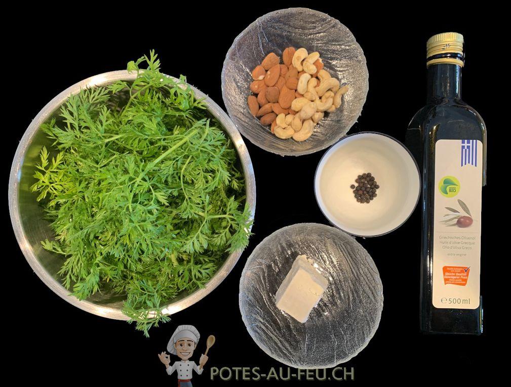 Pesto de Fanes de Carottes