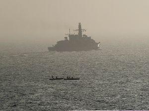 Mission Arromanches : le groupe aéronaval dans le golfe Arabo- Persique