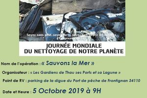 On recommence le World Cleanup Day