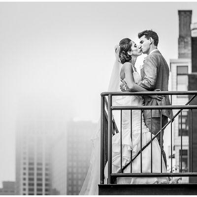 Wedding at The Grain Exchange, Milwaukee.