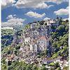 Vue sur le village de Rocamadour