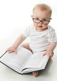 Very bonne blague : mon fils de 2 ans sait lire !