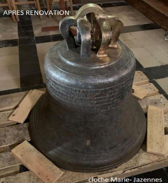 10 mars : Messe de consécration de la cloche de l'église de Jazennes