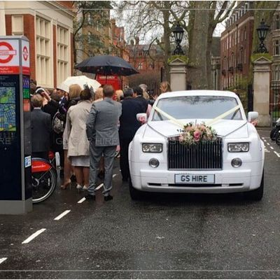 Wedding Car Hire with a Professional Driver